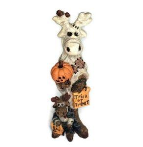 Boyds Bears Folkstone Collection Halloween Moose